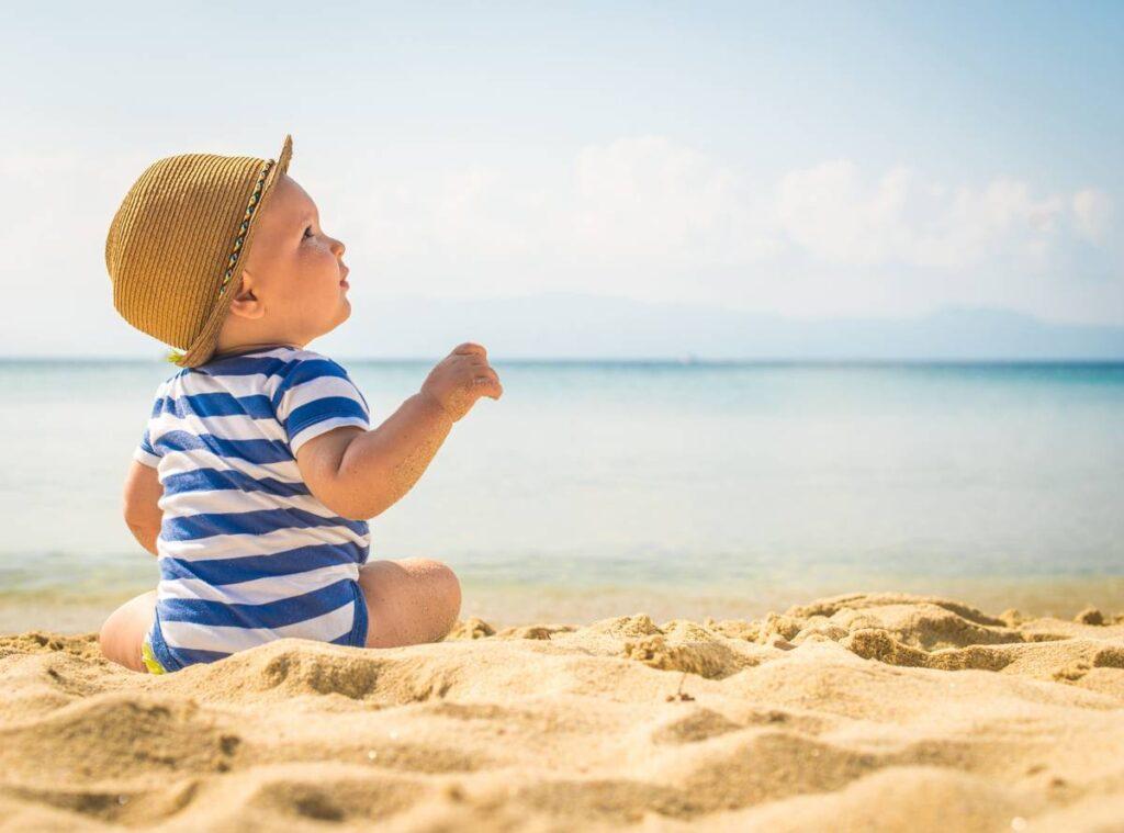 παιδιά και αντιηλιακή προστασία